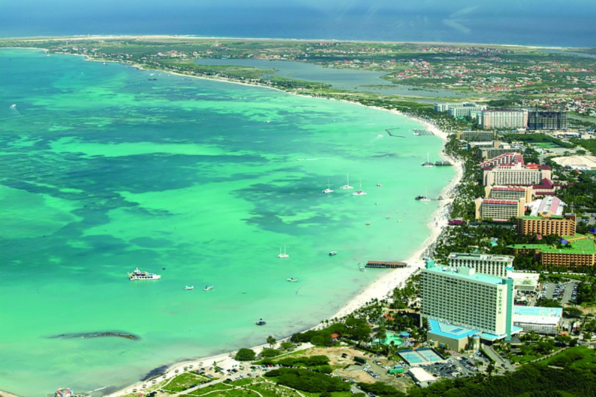 aerial shot Palm beach copy