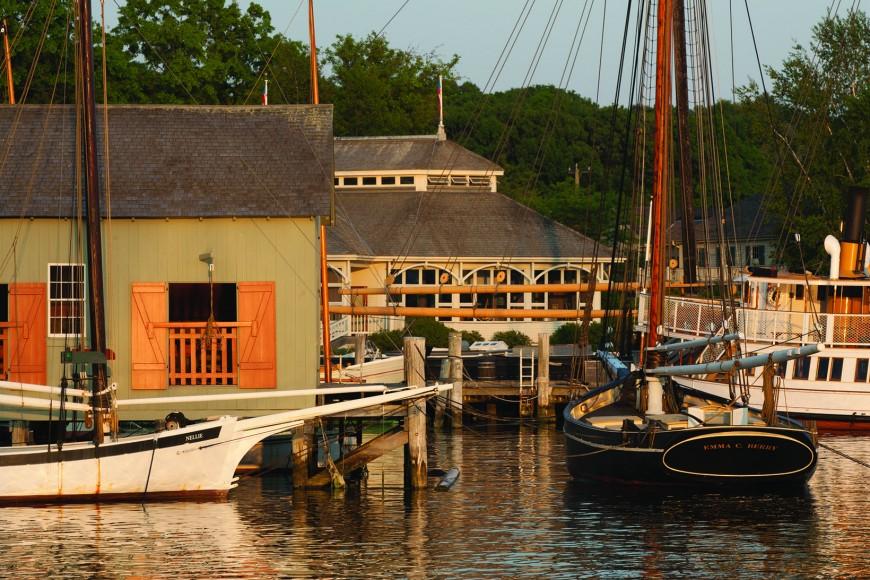 Mystic Seaport, Mystic, CTNellie & Emma C Berry