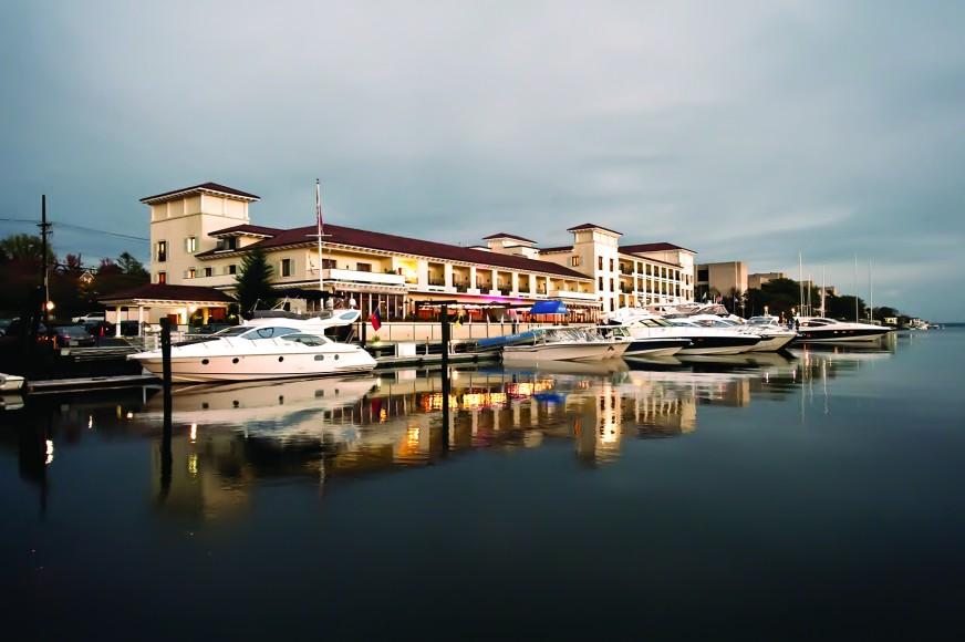 Delamar Marina at Sunset copy