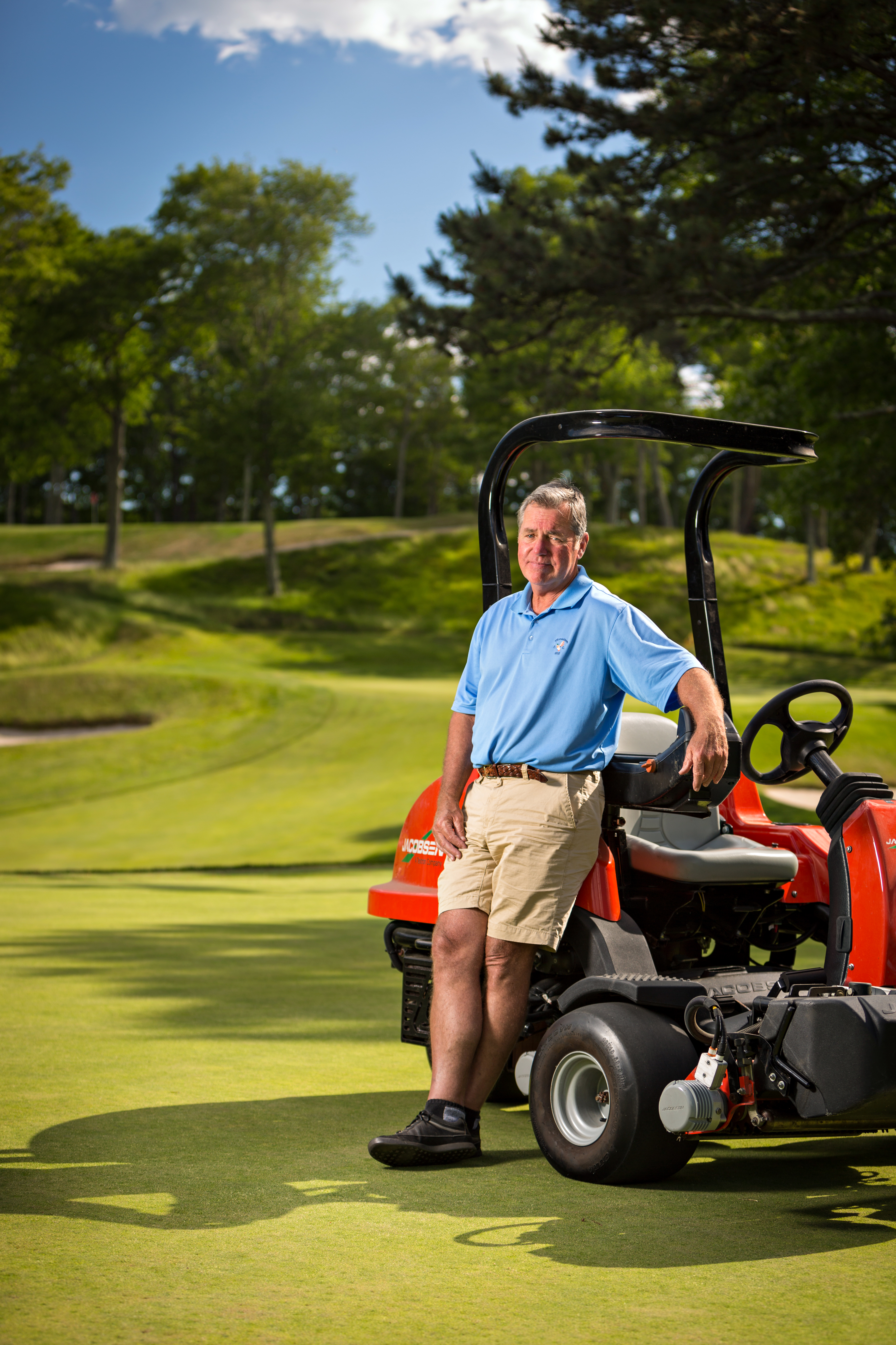 Steve Carr's father, Bill, once owned the club. He's been the golf course superintendent since 1975.