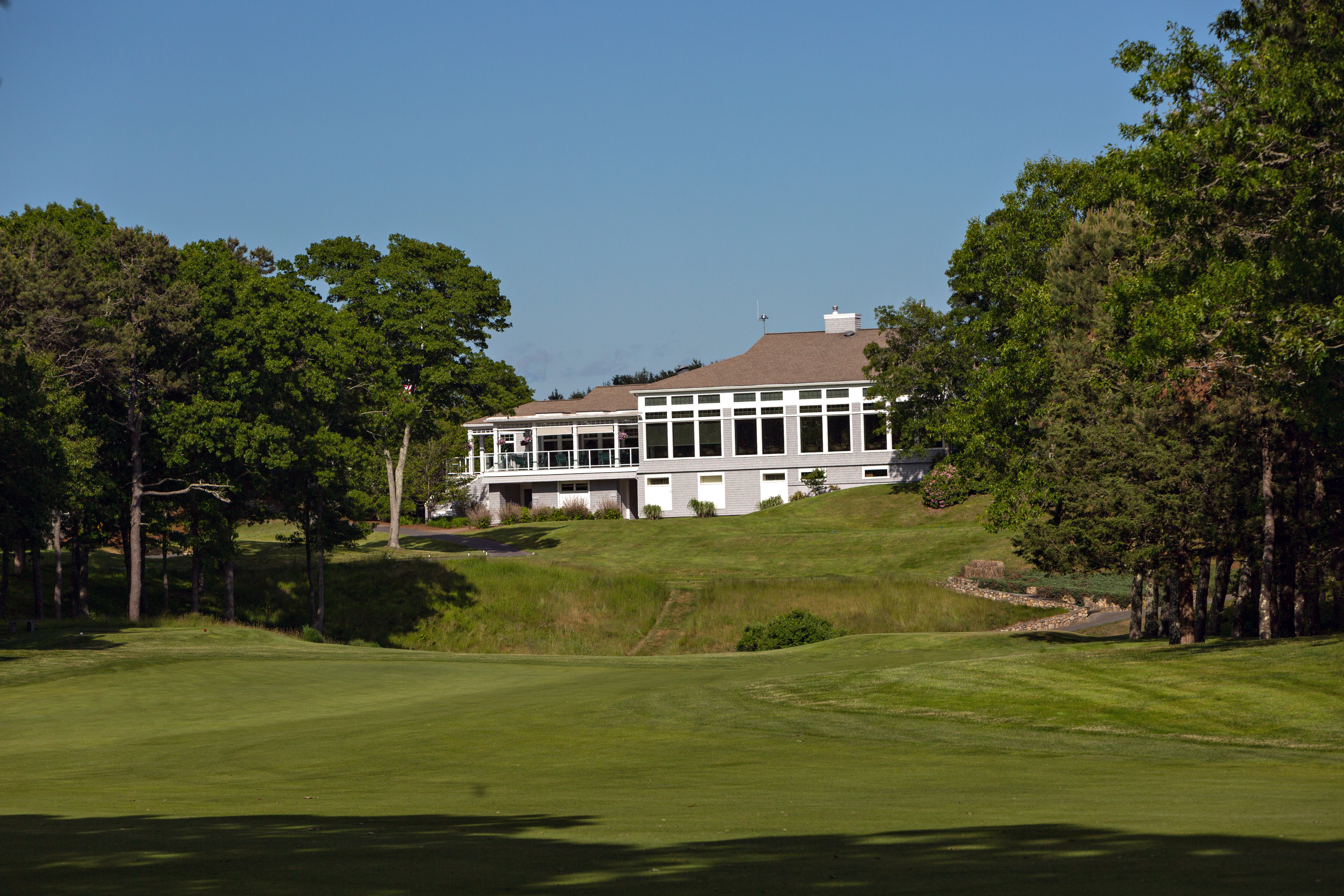 The elegant clubhouse, opened in 2008, completed Pocasset's transformation.