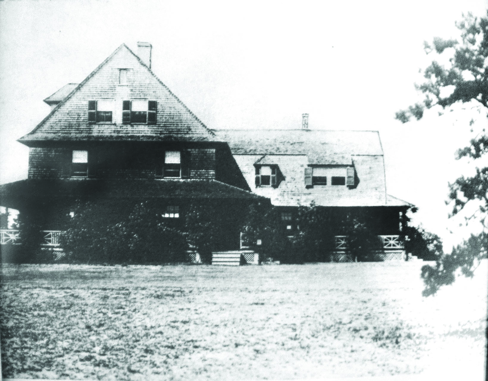 Pocasset's original clubhouse.