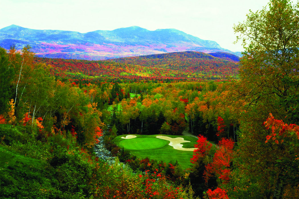 A SWEET SPOT: SUGARLOAF GOLF CLUB, MAINE