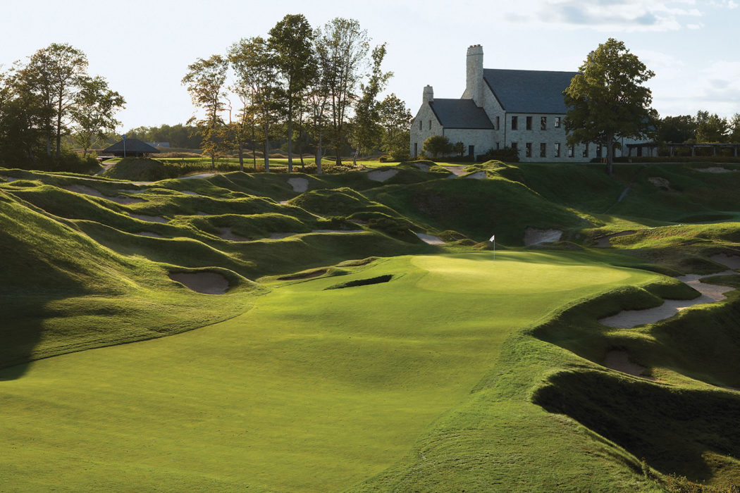TRAVEL: GOLFING AMERICA'S DAIRYLAND