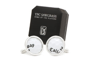 GOLF BALL CUFF LINKS